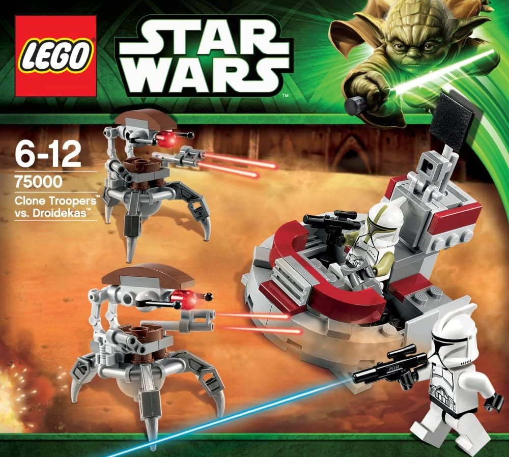 LEGO Star Wars Personaggio-droideka da Set 75000 121