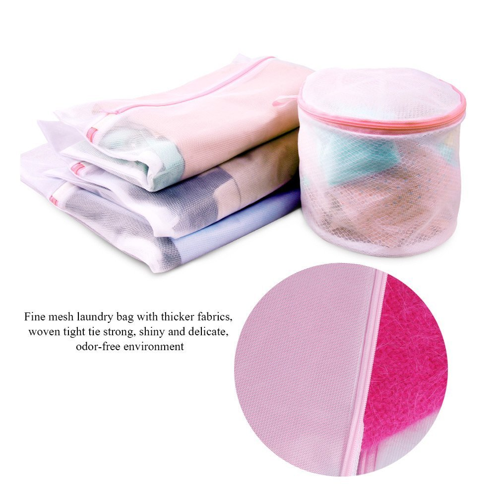 d5049935361d Amazon.com: Yahead Laundry Wash Bag Delicates Durable Reusable Mesh ...
