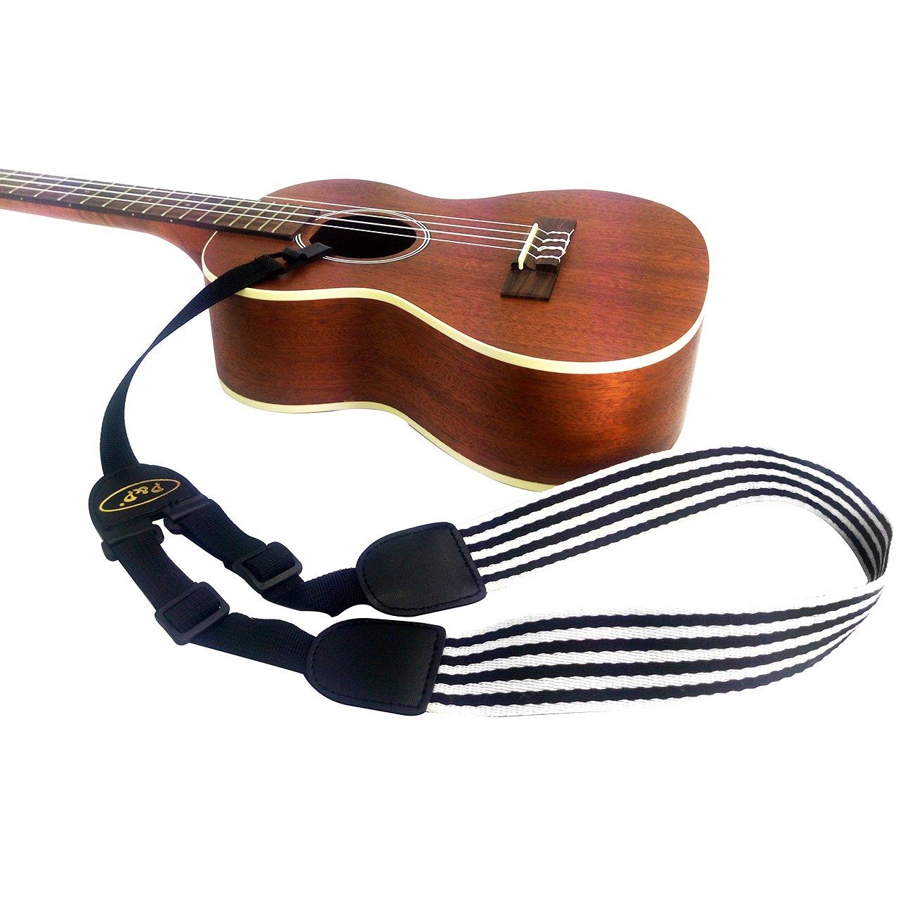 Correa ajustable de ukelele sin cualquier instalación - correa de cuello para ukelele de todo tamaño: Amazon.es: Instrumentos musicales