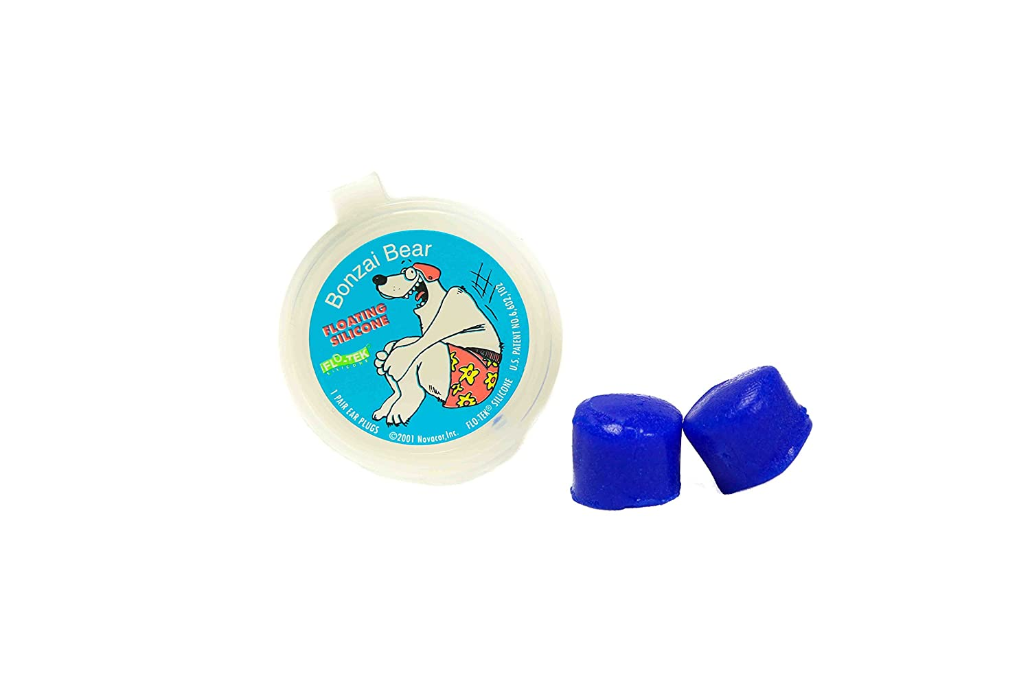 Putty Buddies Floating Earplugs 10-Pair Pack - Soft Silicone Ear Plugs for Swimming & Bathing