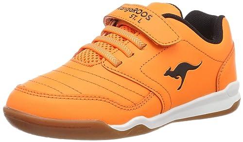 KangaROOS VanderYard, Zapatillas de Deporte Interior Unisex niños, (Neon Orange 7020), 39 EU: Amazon.es: Zapatos y complementos