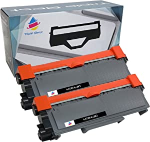 MyTripleBest Compatible Toner Cartridge Replacement for Dell 593-BBKD E310dw 514dw 515dw E515dn P7RMX (2 Pack)