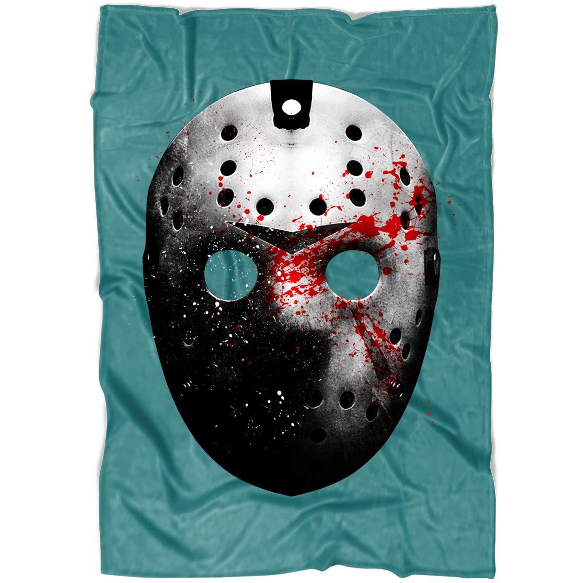 Amazon.com: LEXIGSTORE Freddy Krueger Mask Soft Fleece Throw ...