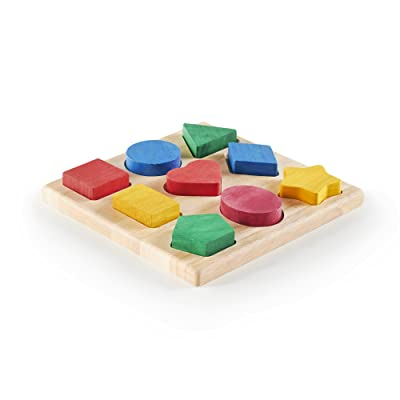 Guidecraft Shape and Color Sorter: Guide Craft: Toys & Games