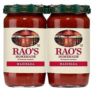 Rao's Homemade Marinara Tomato Sauce 28 OZ Each - 2 Pack