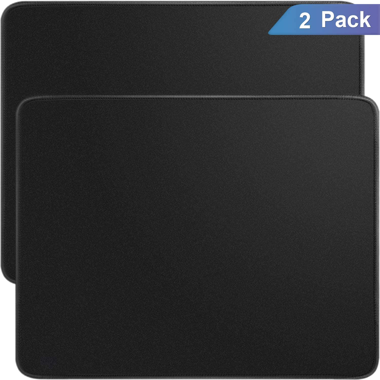 Ktrio 10 Pack Mouse Pad with Stitched Edges Mousepads Bulk with Lycra Cloth ...