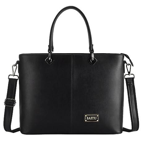 Amazon Com Laptop Bag For Women Iaitu Stylish Handbag Tote Bag