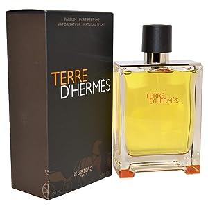Hermes Terre D' Parfum Spray for Men, 6.7 Fl Oz