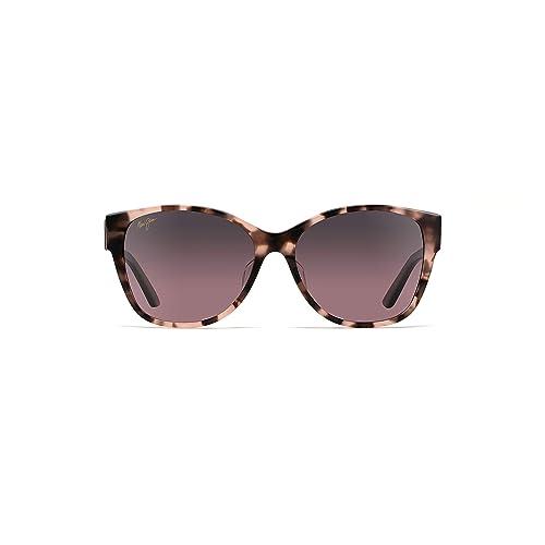 2c500b3e379b Maui Jim Women's Summer Time Polarized Cateye Sunglasses, Pink Tokyo  Tortoise, ...