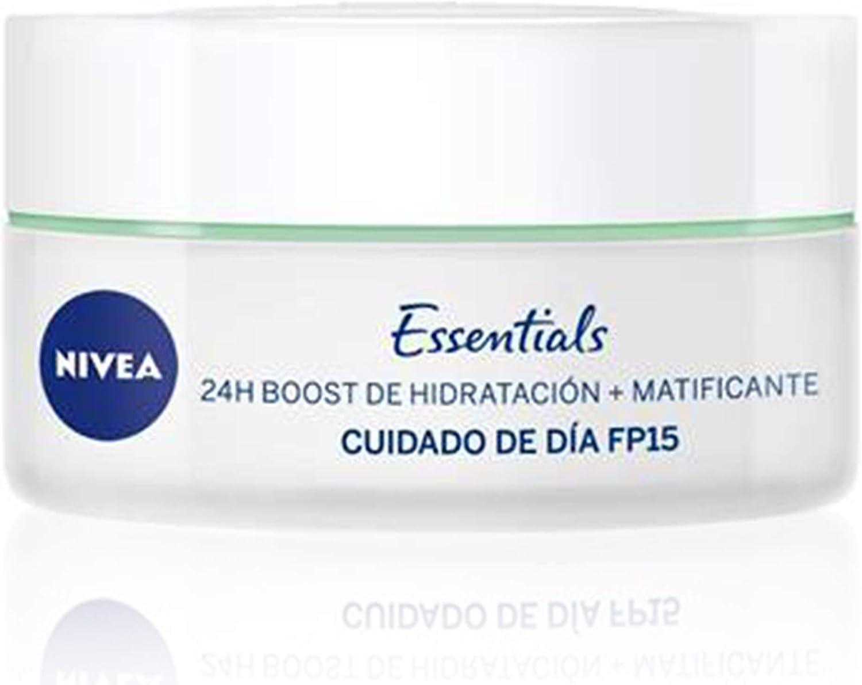 NIVEA Cuidado de Día Matificante (1 x 50 ml), crema matificante y ...