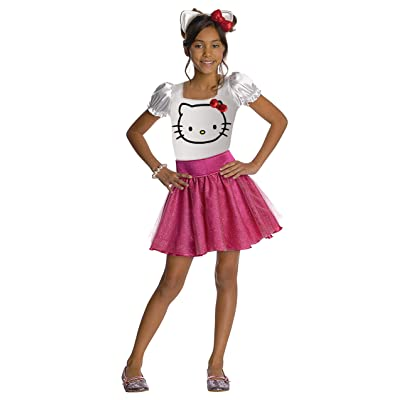 Hello Kitty Tutu Dress Child Costume - Medium: Toys & Games