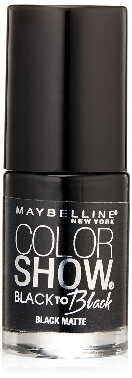 Amazon.com : Maybelline New York Color Show Black To Black Nail ...