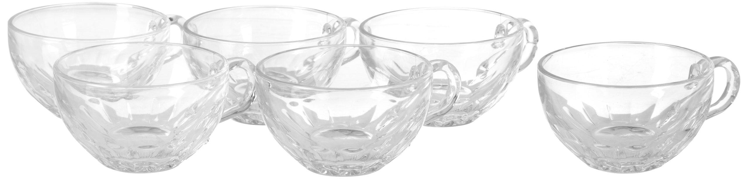 La Rochere Set Of 6, 11.5 oz. Coffee Cup, Louison