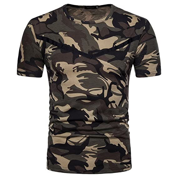 Gusspower Camiseta Hombre, Camiseta de Camuflaje Hombre Militares Camisetas Deporte Ropa Deportiva Camisa de Manga Corta de Camuflaje Slim Fit Casual para ...