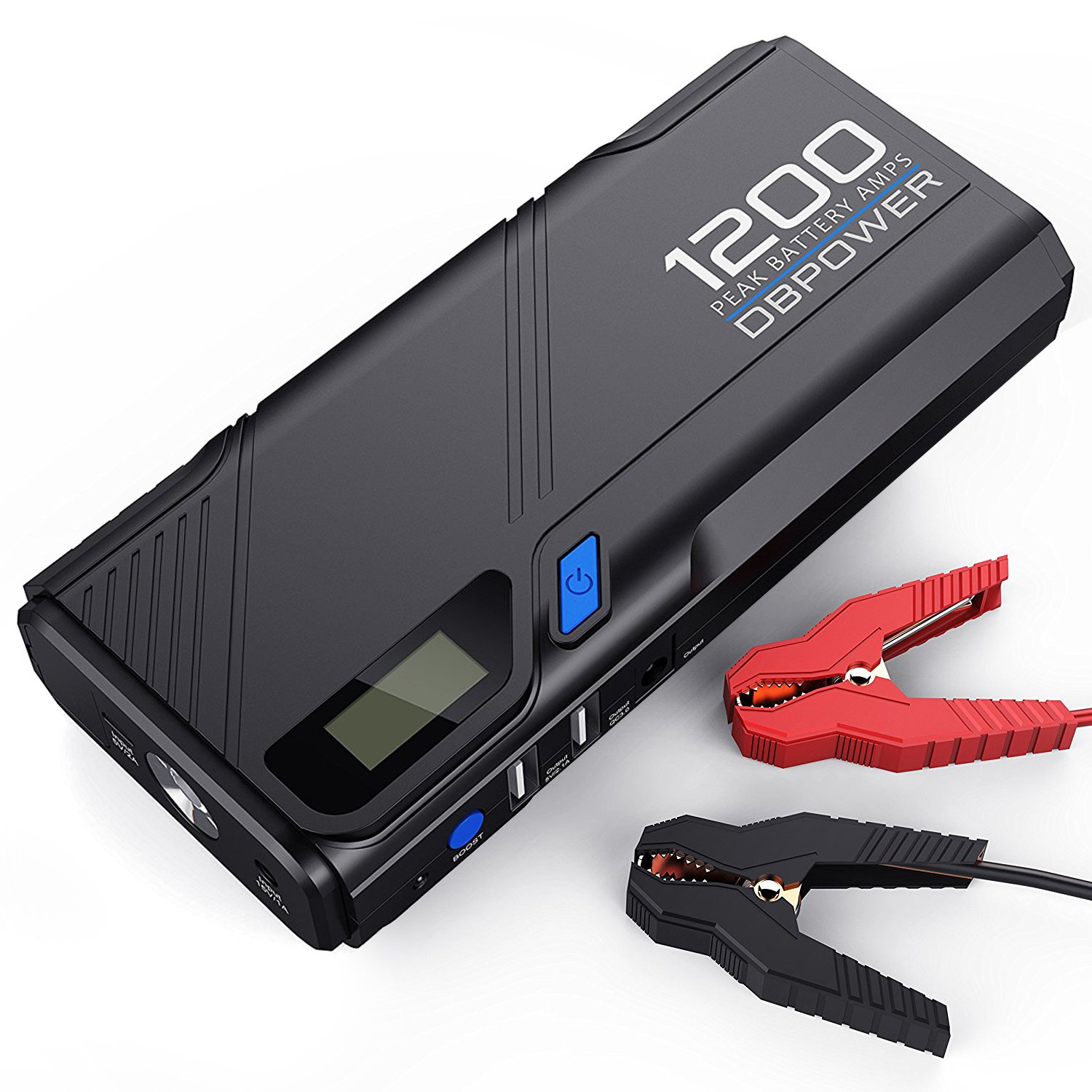 dbpower portable car jump starter quick charge 3 0 power ban forums cnet. Black Bedroom Furniture Sets. Home Design Ideas