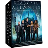 Stargate Atlantis: The Complete Collection inc All 5 Seasons, 100 Episodes