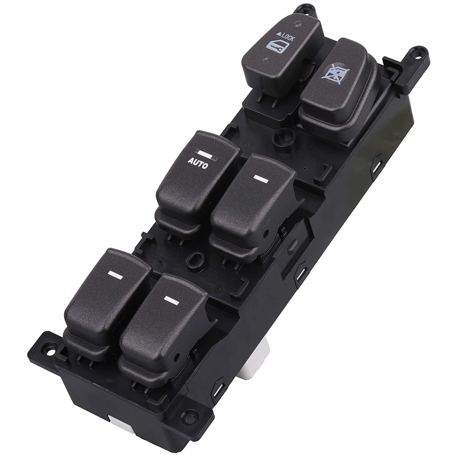 Compatible with 2009 2010 Hyundai Sonata Replace OE 93570-3K600 Master Power Window Switch Button Front Left Driver Side