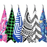 DARCHEN Microfiber Beach Towels Oversize Quick Dry Towel [1 or 4 Pack] - Travel Beach Towel for Swimming Pool, Sand Free…