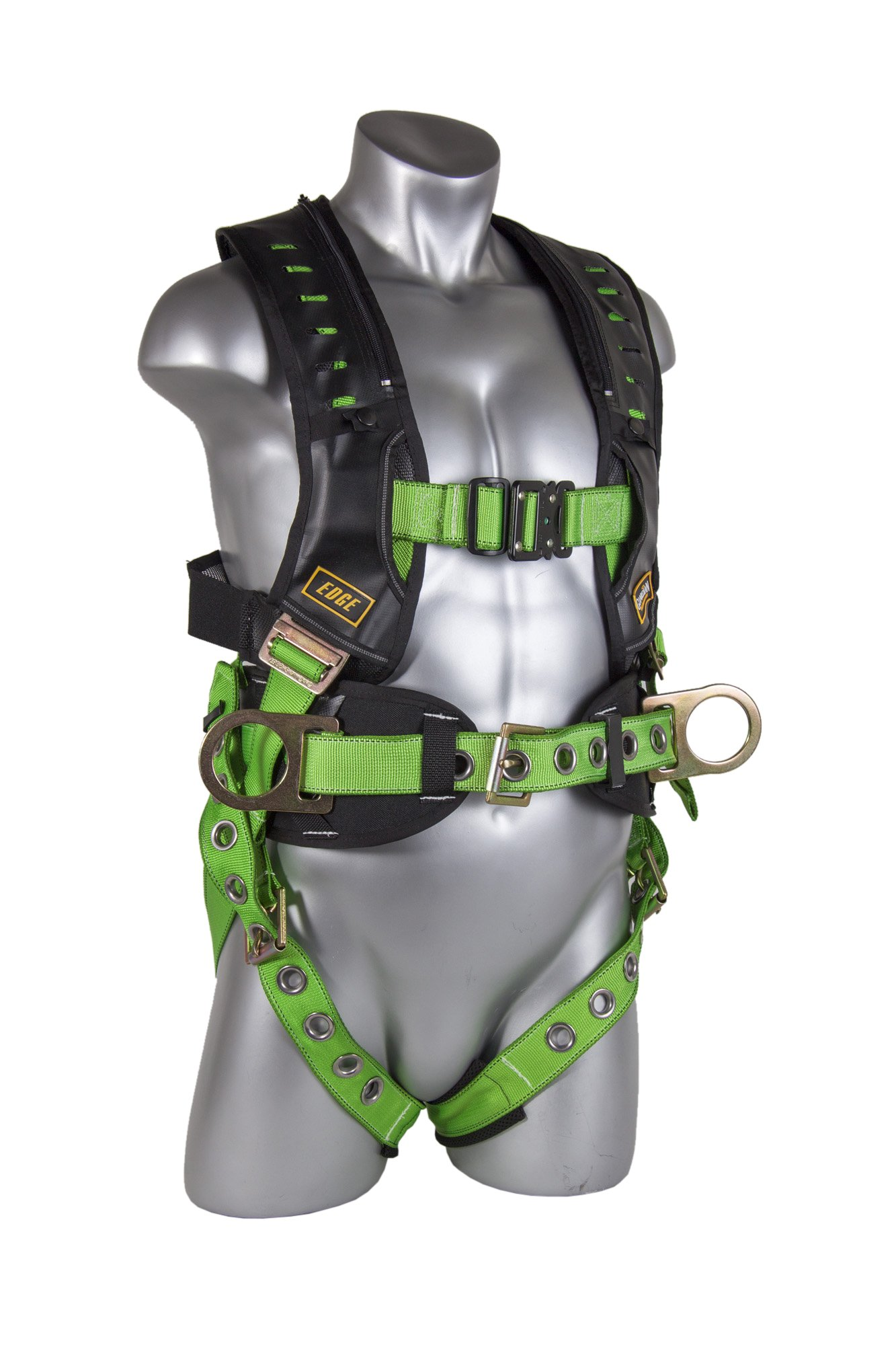 Guardian Fall Protection 193191 M-XL Monster Edge Harness with Side D-Rings