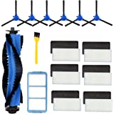 Wigbow Accessories Kit Compatible with eufy RoboVac 11S, RoboVac 30, RoboVac 30C, RoboVac 15C, Accessory Robotic Vacuum…