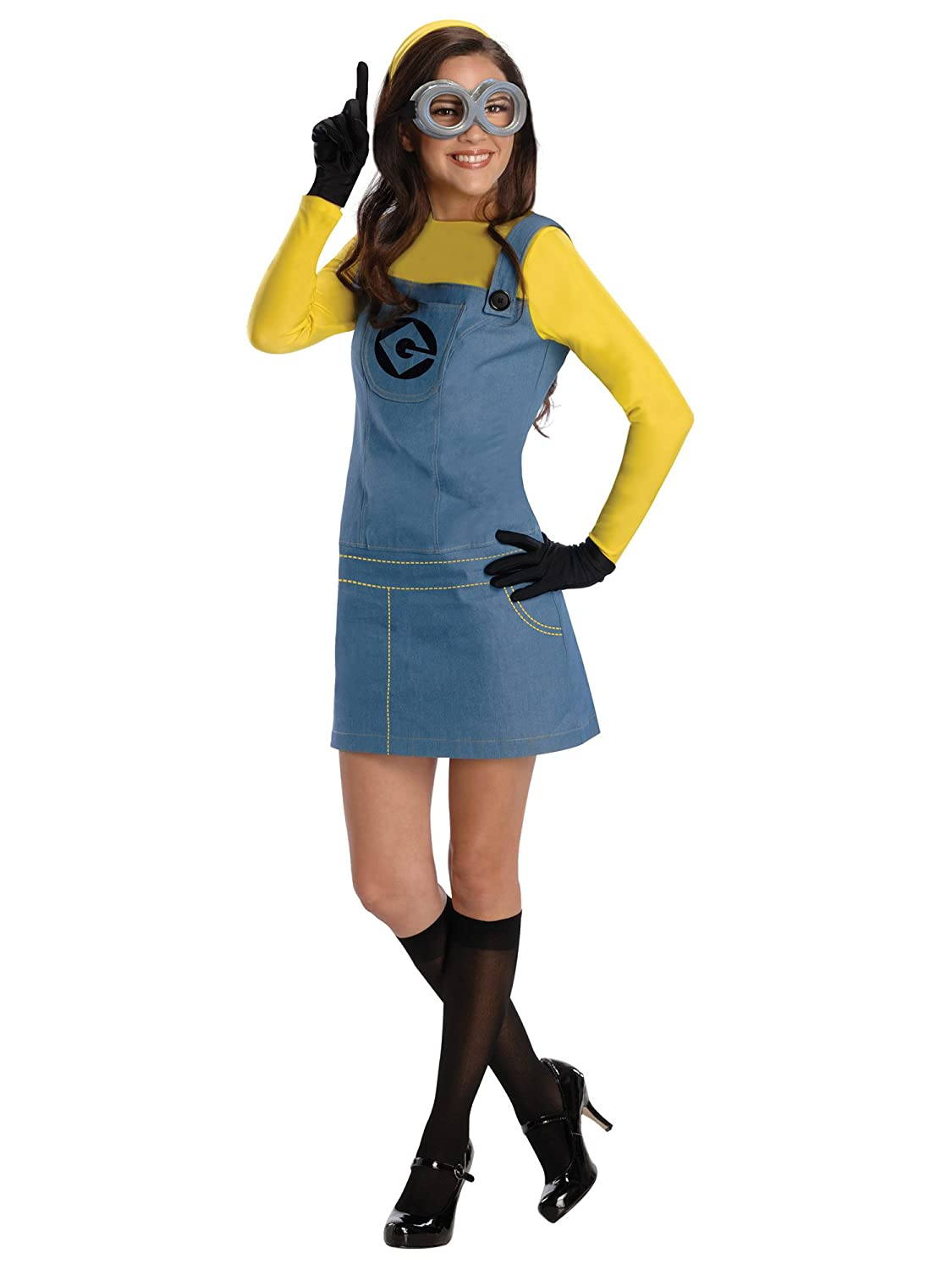 Amazon.com Rubieu0027s Womenu0027s Despicable Me 2 Minion Costume with Accessories Clothing  sc 1 st  Amazon.com & Amazon.com: Rubieu0027s Womenu0027s Despicable Me 2 Minion Costume with ...