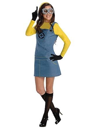 Rubies Disfraz de Minion para Mujer Azul / Amarillo S: Amazon.es ...