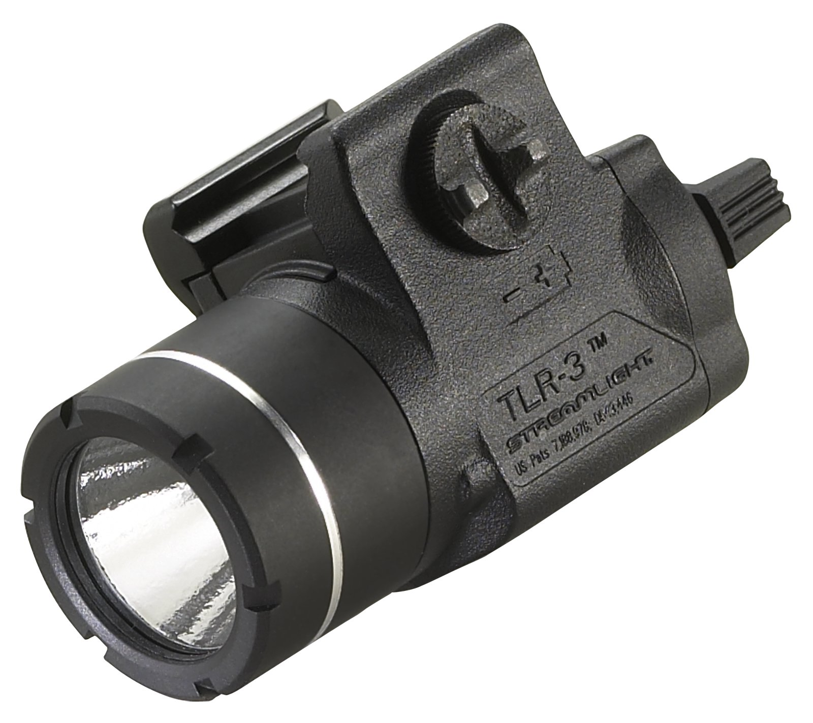 Streamlight 69220 TLR-3 Weapon Mounted Tactical Light with Rail Locating Keys - 800 Lumens