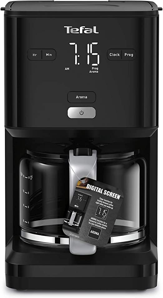 Tefal Smart N Light CM6008 Cafetera Filtro capacidad de 1.25 l ...