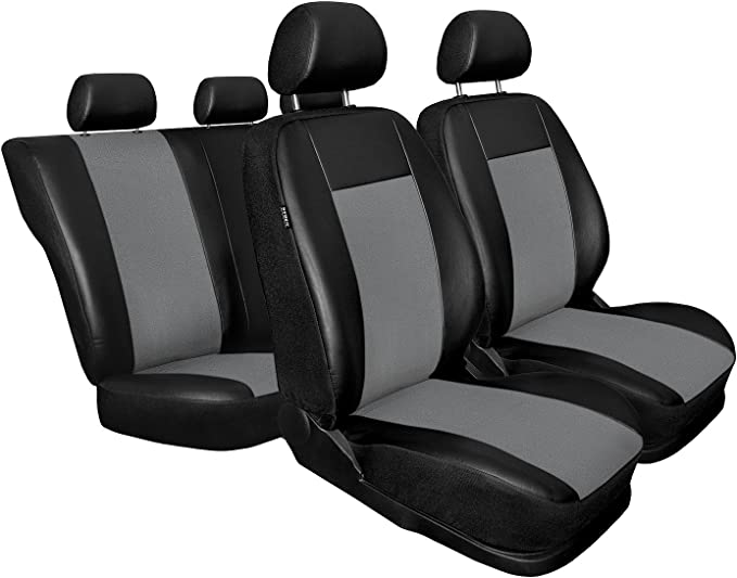 BMW Serie 5 Grau Universal Sitzbezüge Sitzbezug Auto Schonbezüge SUPERIOR