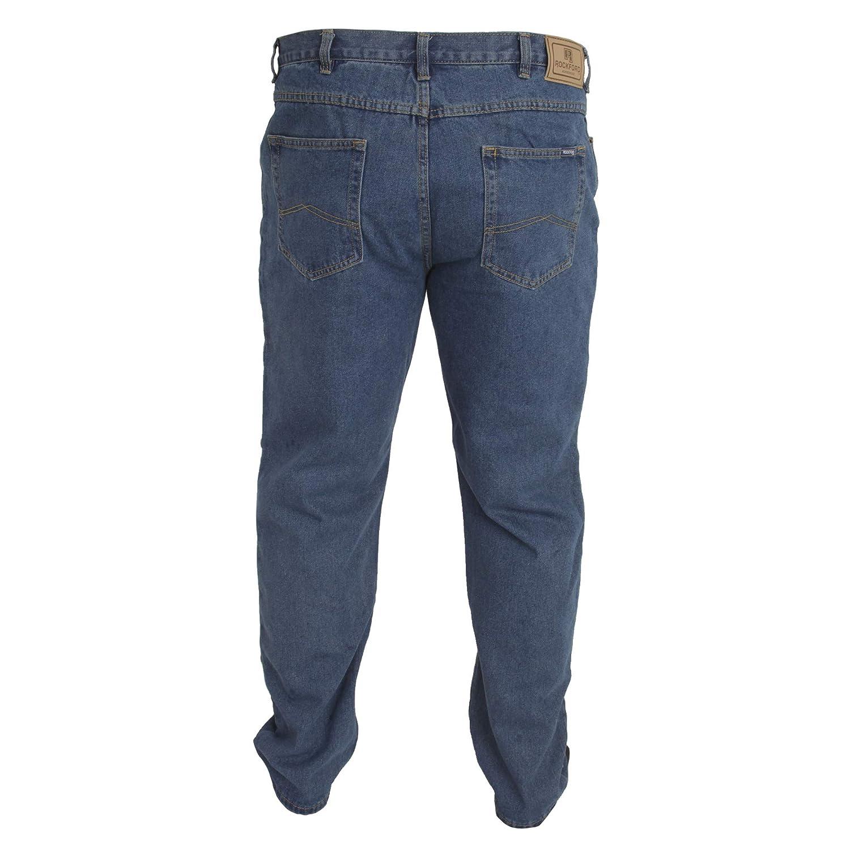 Duke - Pantalón cómodo Modelo Rockford Tallas Grandes para Hombre