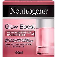 Neutrogena Glow Boost Revitaliserende nachtverzorging (50 ml), regenererende nachtcrème met neoglucosamine en mineralen…