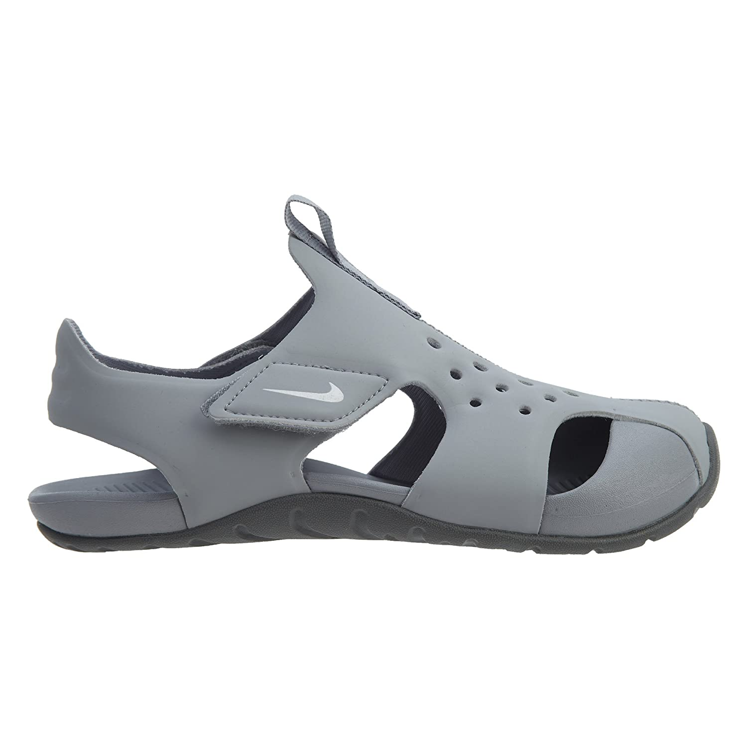 Nike Sunray Protect 2 Ps Wolf Grey Boys//Girls Style 943826-002 Size 3