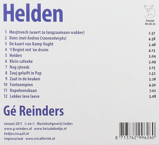 Ge Reinders Helden Amazon Com Music