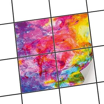Fesselnd Creatisto Küchen Fliesen Fliesen Mosaik | Klebe Folie Sticker Aufkleber  Badfolie Wand Deko
