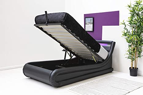 Magnificent Barcelona Led Light Headboard Low Modern Lift Up Ottoman Forskolin Free Trial Chair Design Images Forskolin Free Trialorg