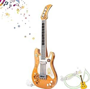 Amazon.com: M SANMERSEN Juguetes de guitarra para niños con ...