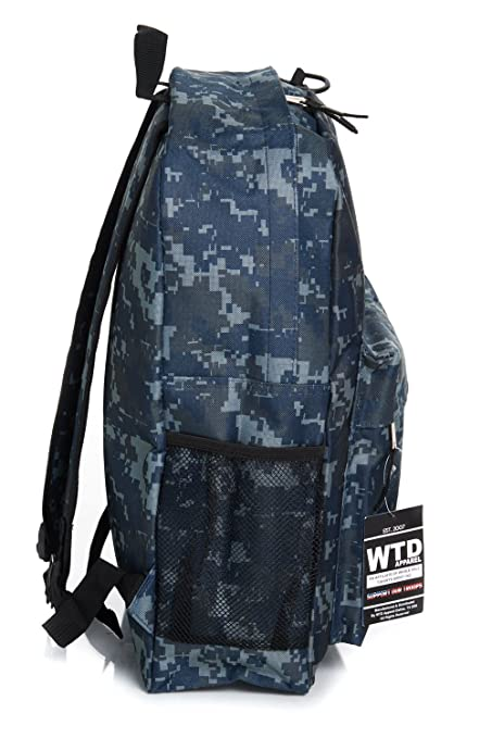 Amazon.com | U.S. Navy Official Licensed Camouflage Backpack | Casual Daypacks