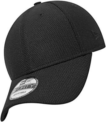 973117120a5 New Era 9FORTY Diamond Era Essential Baseball Cap - Black Adjustable ...
