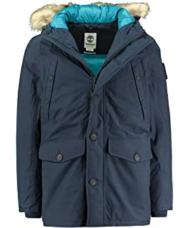 Timberland Mens Snowdon Peak M65 3 in 1 Jacket in Griege XL