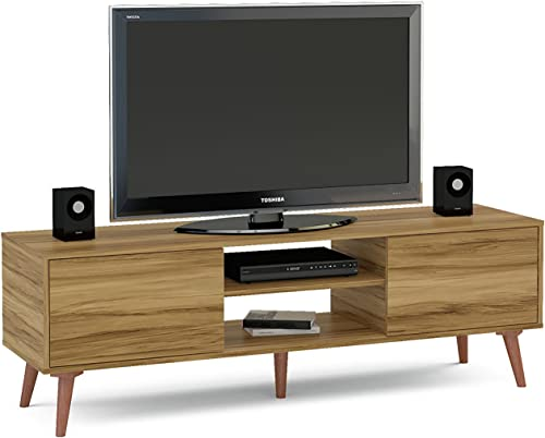 Boahaus Stylish TV Stand up to 65 , Brown Brown