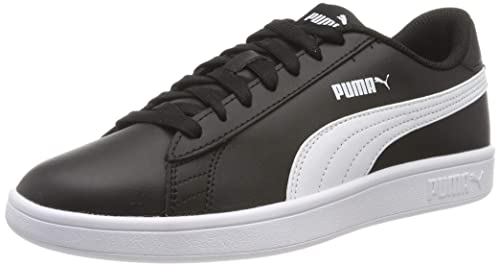 PUMA Smash V2 Leather, Baskets Basses Mixte Adulte