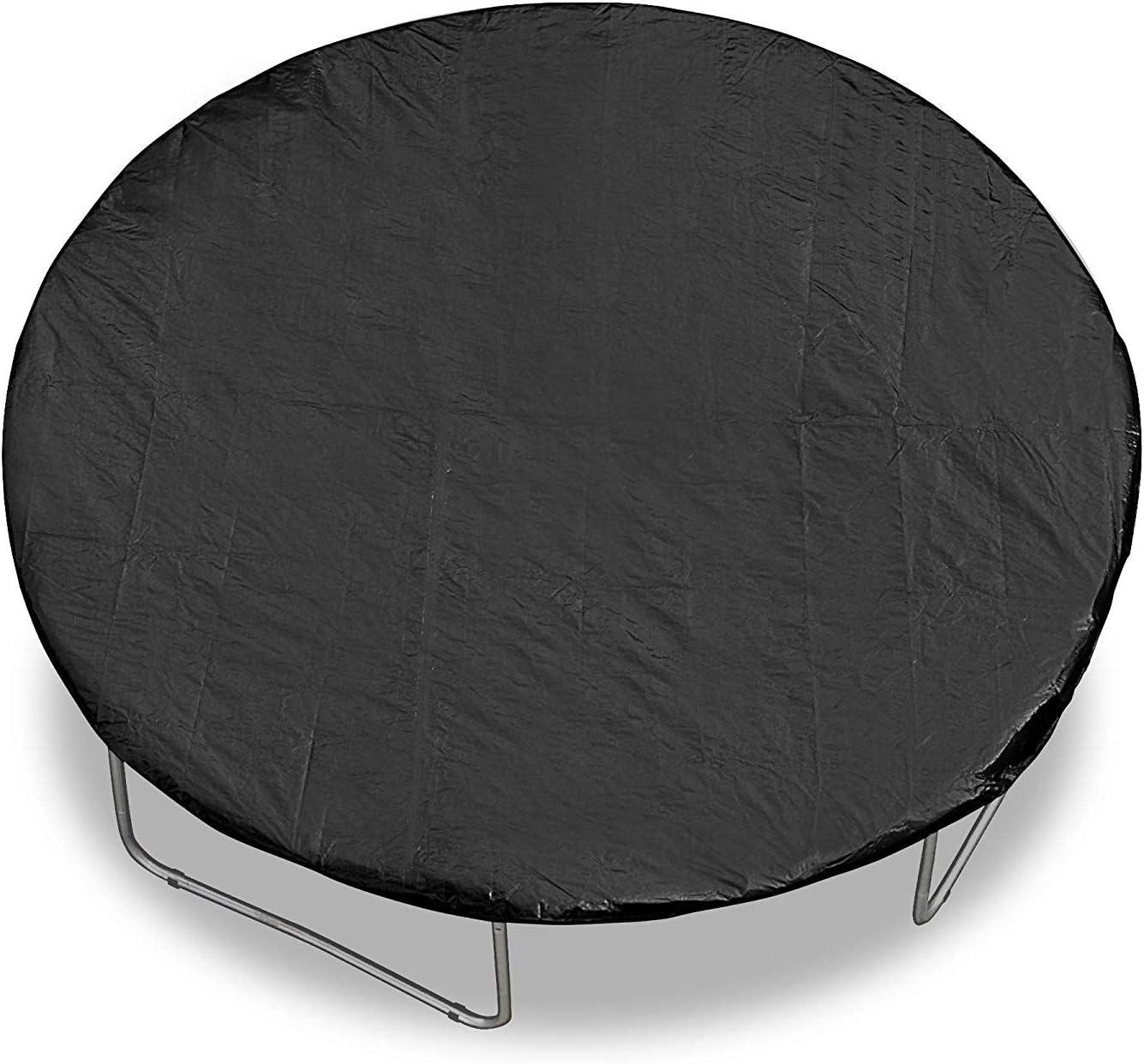 14FT Trampoline Weather Rain Dust Cover Black Waterproof Outdoor