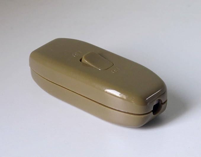 inline 2a 3 core inline switch gold ser1685ll amazon co uk lighting rh amazon co uk  wiring an inline dimmer switch uk