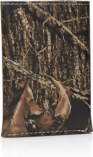 Nocona Western Mens Wallet Trifold Camo Mossy Oak 12 Gauge N54444222