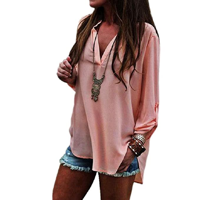 Langarmshirt Damen Tunika Long Shirt Pullover Sterne Druck Pulli Sweater AM 255
