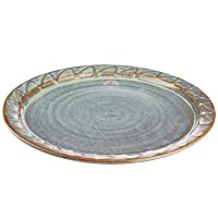 Castle Arch Pottery Dinner Service Set of 4 Hand-Glazed Salad Plates 7.5 inches