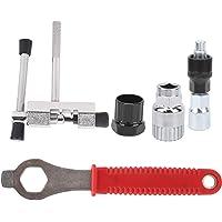 Gerioie Ferramenta extrator de manivela de bicicleta, ferramentas duráveis de reparo de bicicleta, suporte de remoção de…