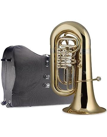 Stagg 77-TU RW SC B-Flat Tuba with Soft Case
