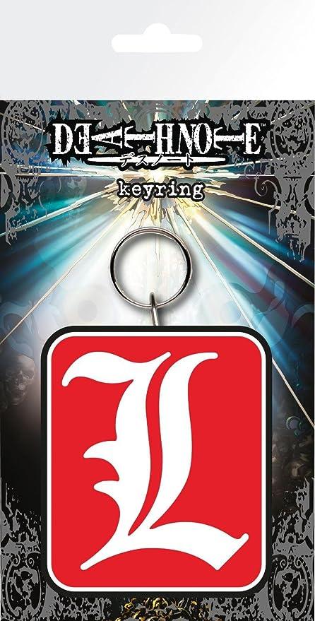 GB eye, Death Note, L, Llavero,: Amazon.es: Hogar