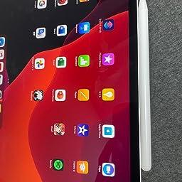 Amazon Co Jp タッチペン Ipad ペン Jamjake 年最新版 スタイラスペン 極細 高感度 Ipad Pencil 傾き感知 磁気吸着 誤作動防止機能対応 軽量 耐摩 18年以降ipad Ipad Pro Ipad Air Ipad Mini対応 パソコン 周辺機器
